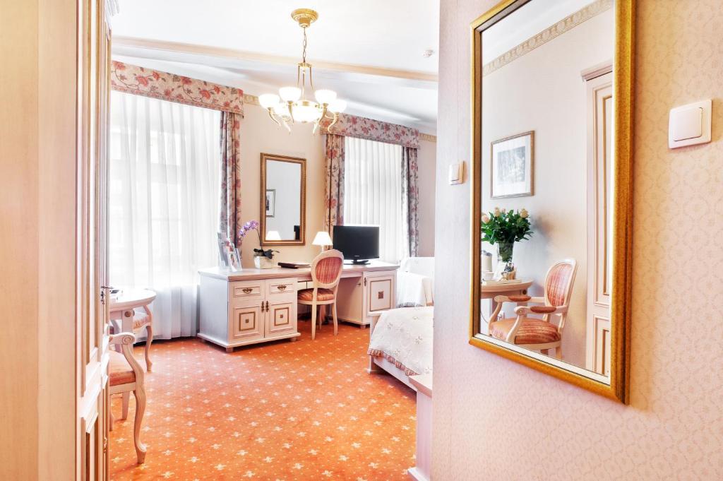 Zona de estar de Hotel Amadeus