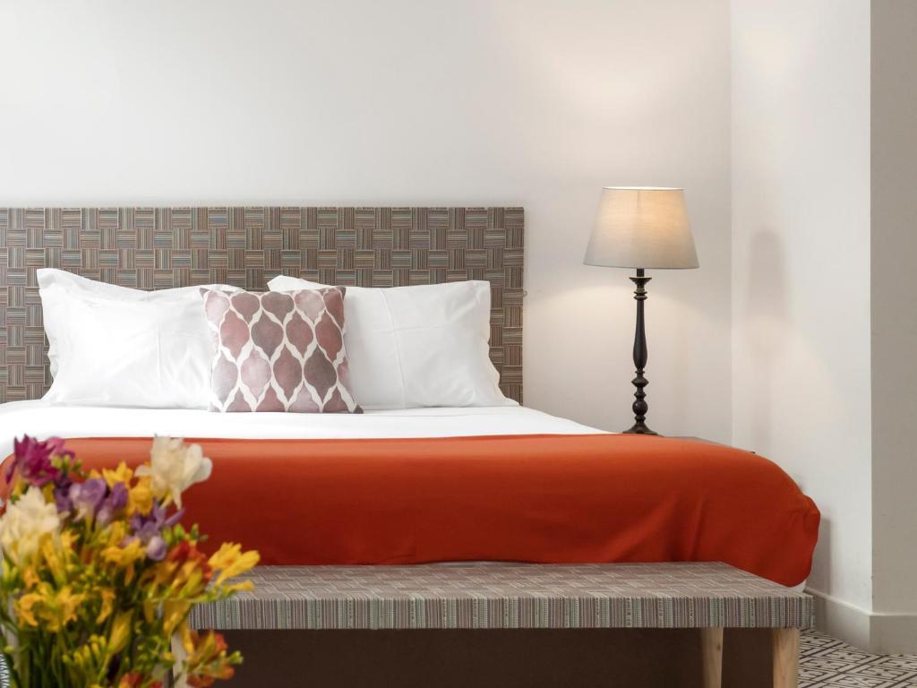 Cama o camas de una habitación en Lisbon Serviced Apartments - Castelo S. Jorge