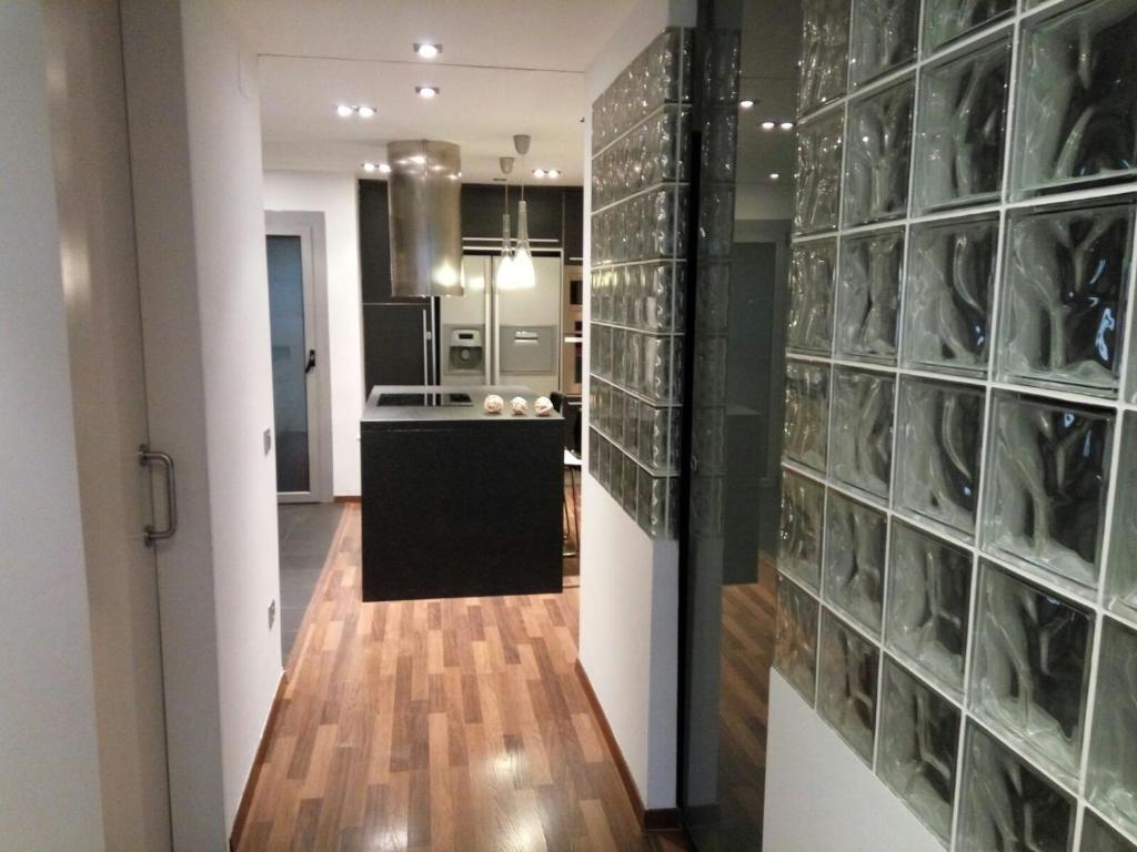 Cucina o angolo cottura di Fira Barcelona El Prat Apartment