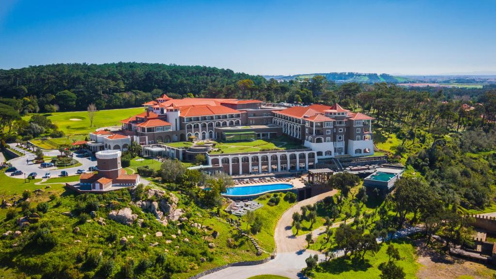 A bird's-eye view of Penha Longa Resort