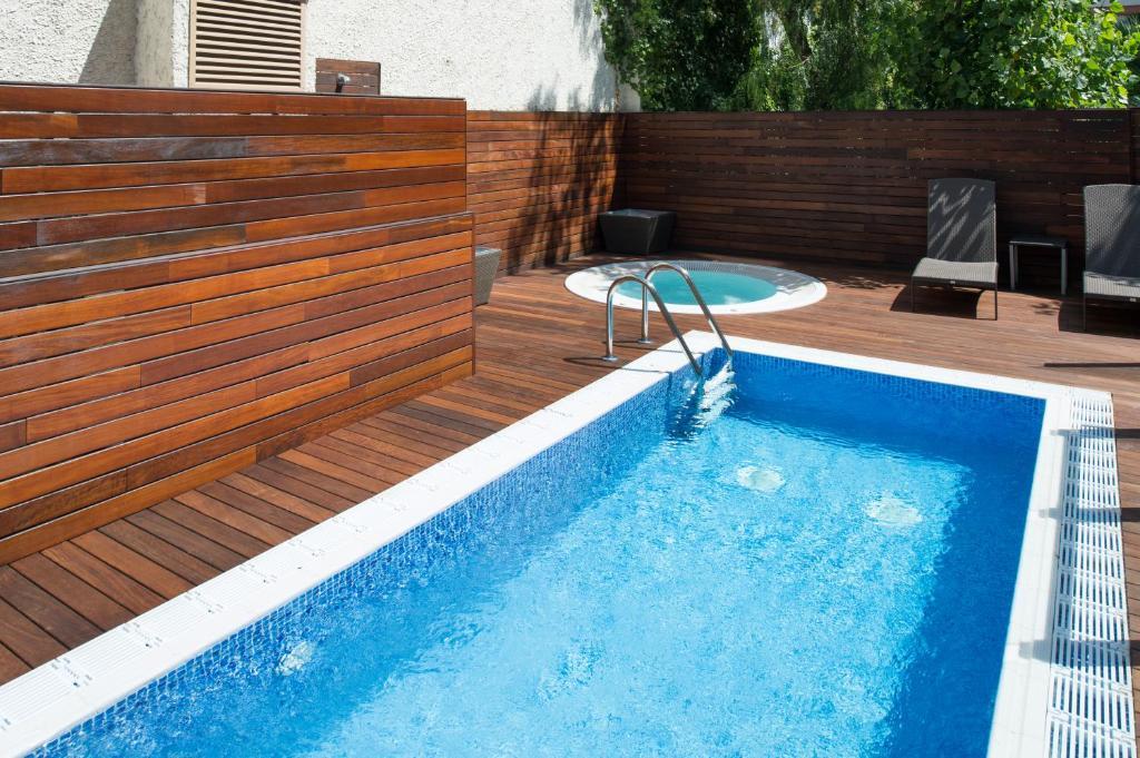 The swimming pool at or near Catalonia Mikado