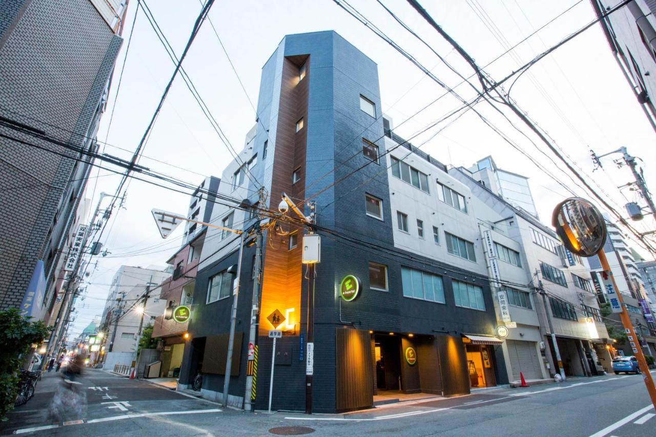 Хостел  E-hostel Shinsaibashi
