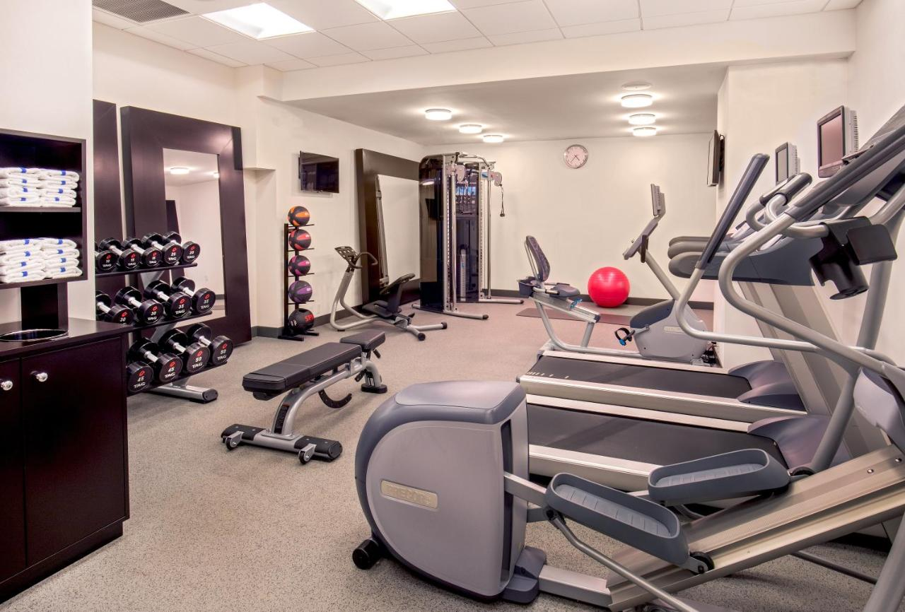 Cuscino Ad Aria Fitness.Hilton Garden Inn Nyc Financial Center Manhattan Downtown New