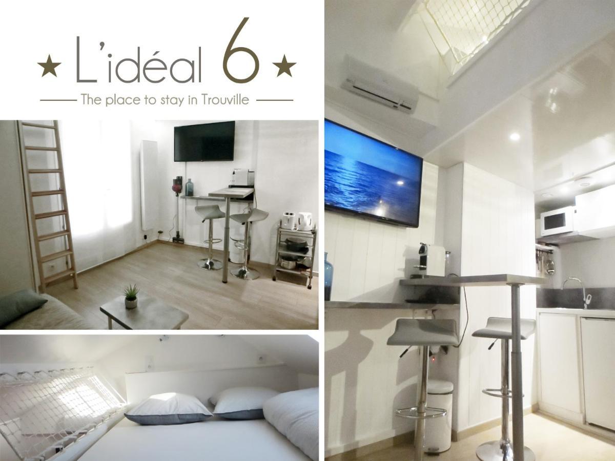 Апартаменты/квартира  L'IDEAL 6 ( Casino A 50m, Plage A 150m)