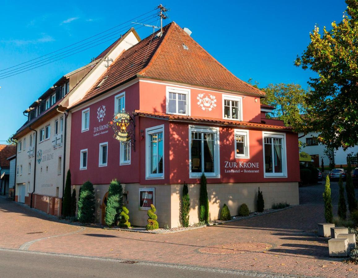 Отель  Landhotel Restaurant Zur Krone
