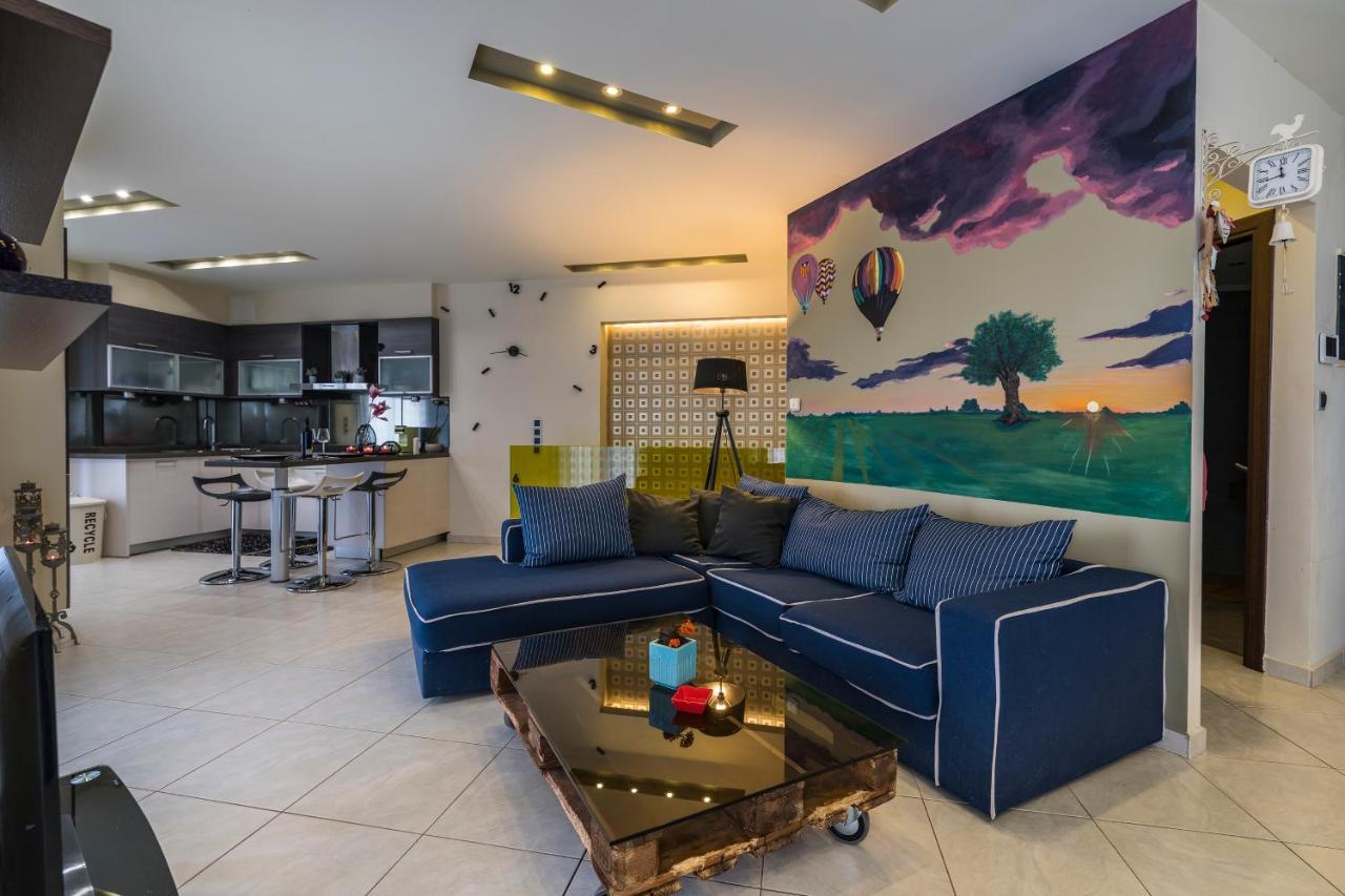 Апартаменты/квартира Falcon Home (Panoramic Full Sea & City View Of Rethymno)