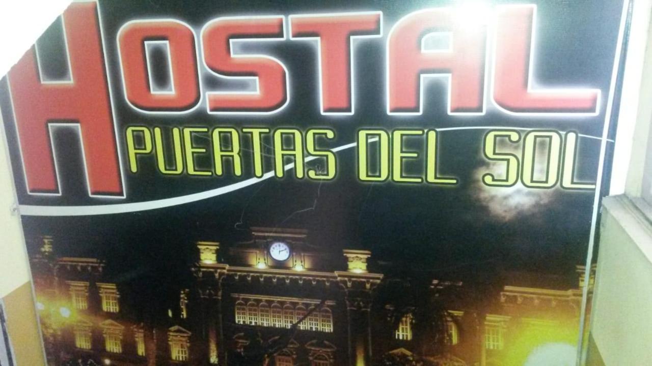 Отель эконом-класса  Hostal Puertas Del Sol