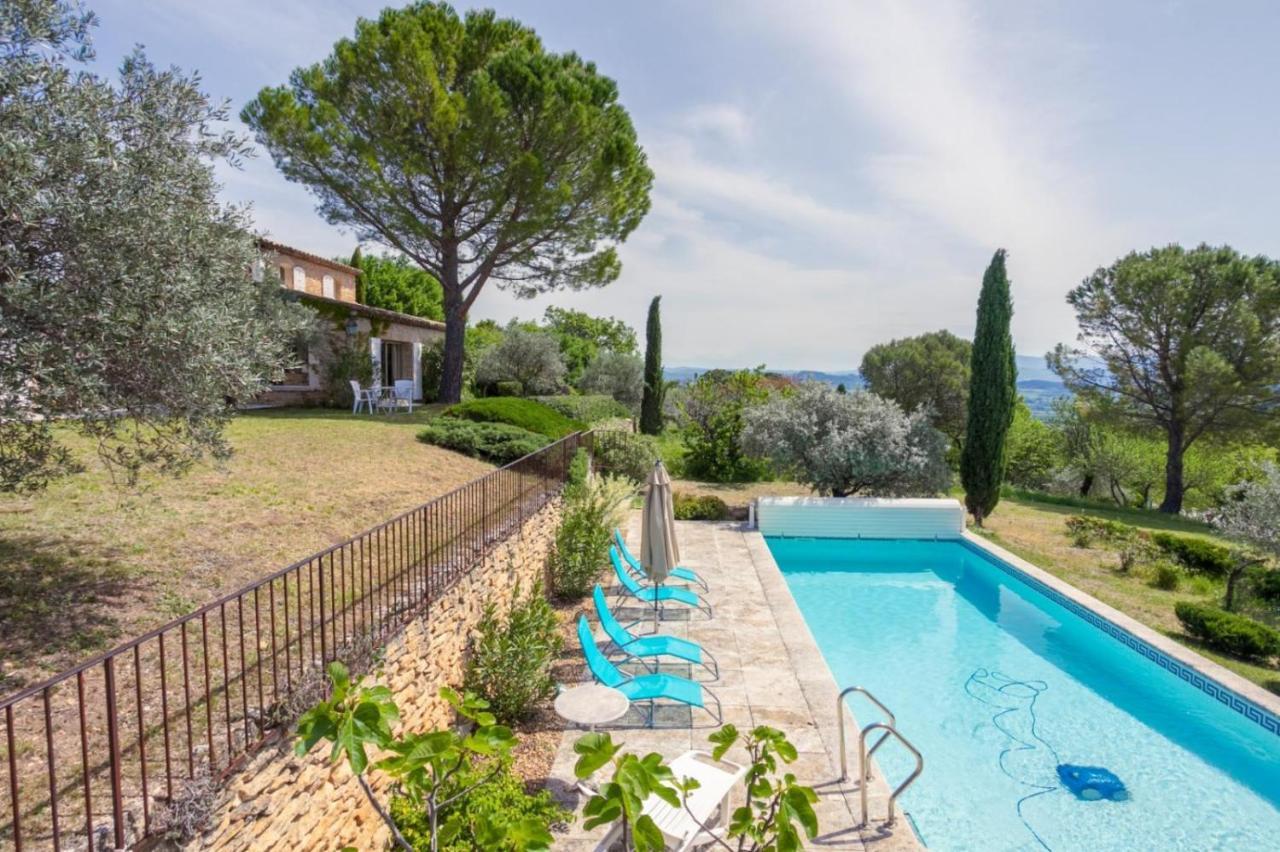 Plan Ou Photo Pool House Pour Piscine villa les rapieres - piscine et vue imprenable sur le