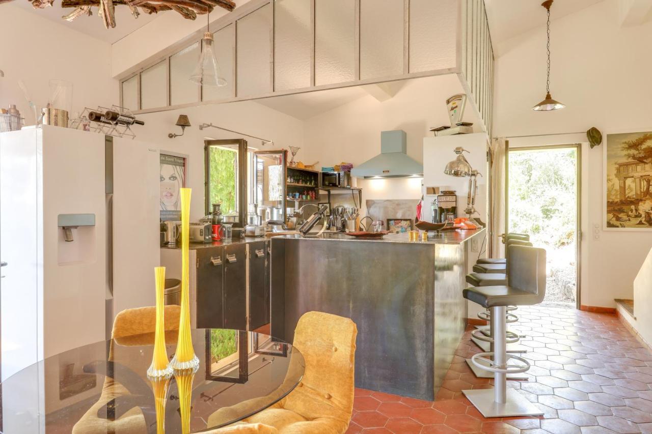 Comment Habiller Un Bar De Cuisine villa luxury & relaxing private pool, entrecasteaux, france