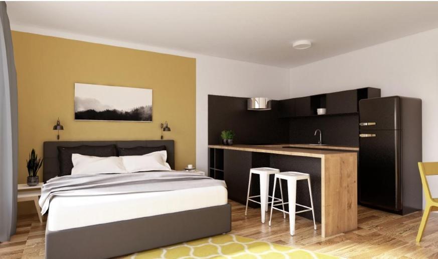 Апартаменты/квартиры  Park Rokytka - Brand New Apartments With Free Parking In Prague