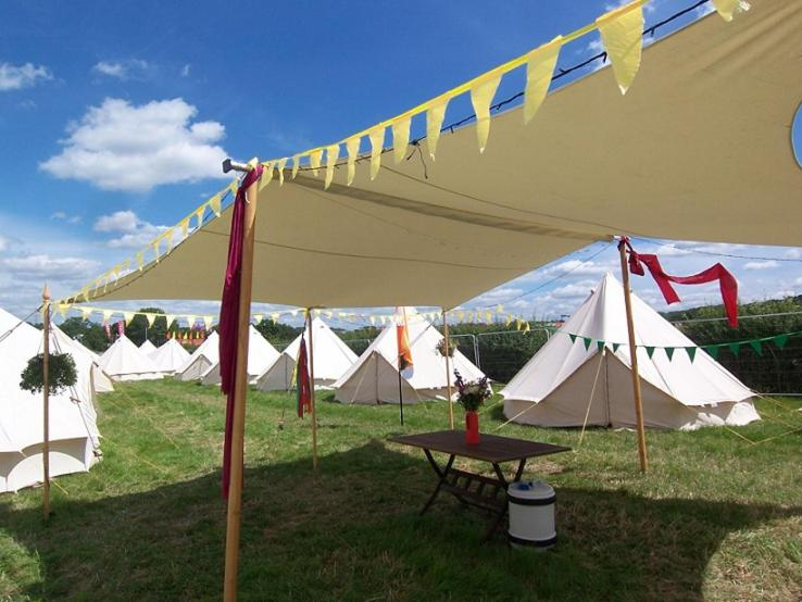 IOM TT Pop Up Hotel by Red Sky Tent