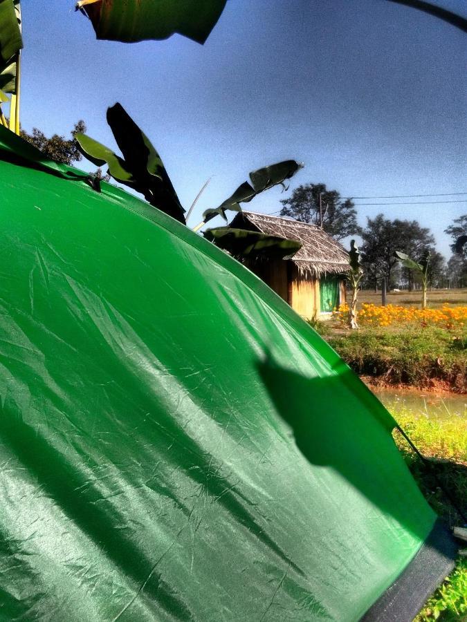 Люкс-шатер  จุดกางเต็นท์ ณธษาบ้านสวนโฮมสเตย์
