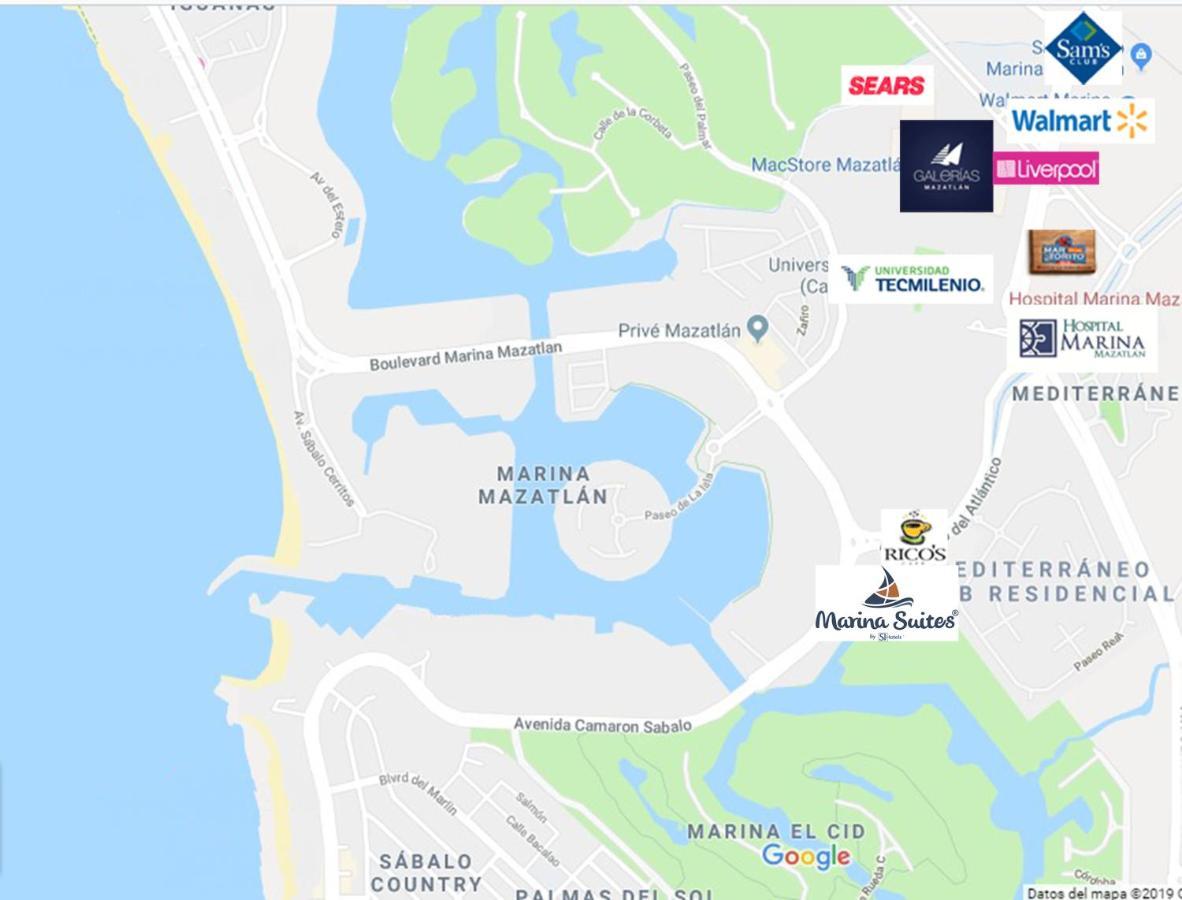 Mapa De Marina D Or.Marina Suites Mazatlan Mazatlan Updated 2019 Prices