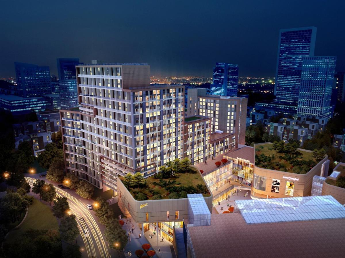 Апарт-отель  Thumb Plaza Apartel Qingdao Sunland