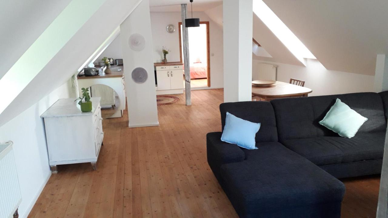 Апартаменты/квартира  Zentrumsnahe Dachwohnung In Grüner Oase