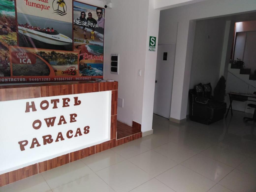 Отель  Hotel Owae Paracas