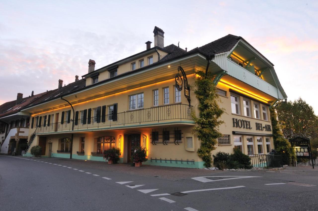 Отель Hôtel Restaurant Cave Bel-Air