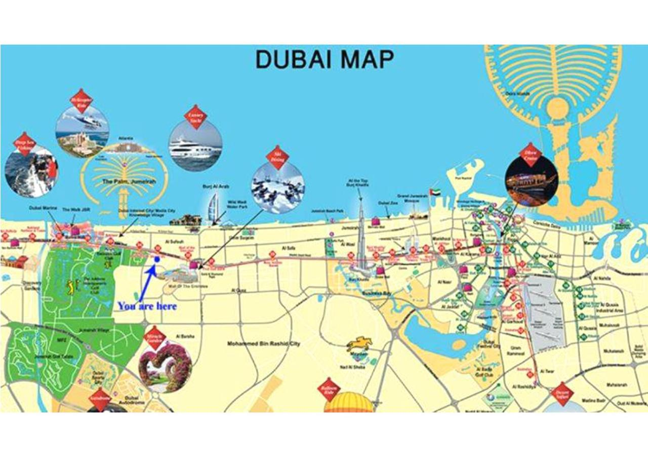 Nestaway In Heart Of Dubai Nr To Metro And All Tourist
