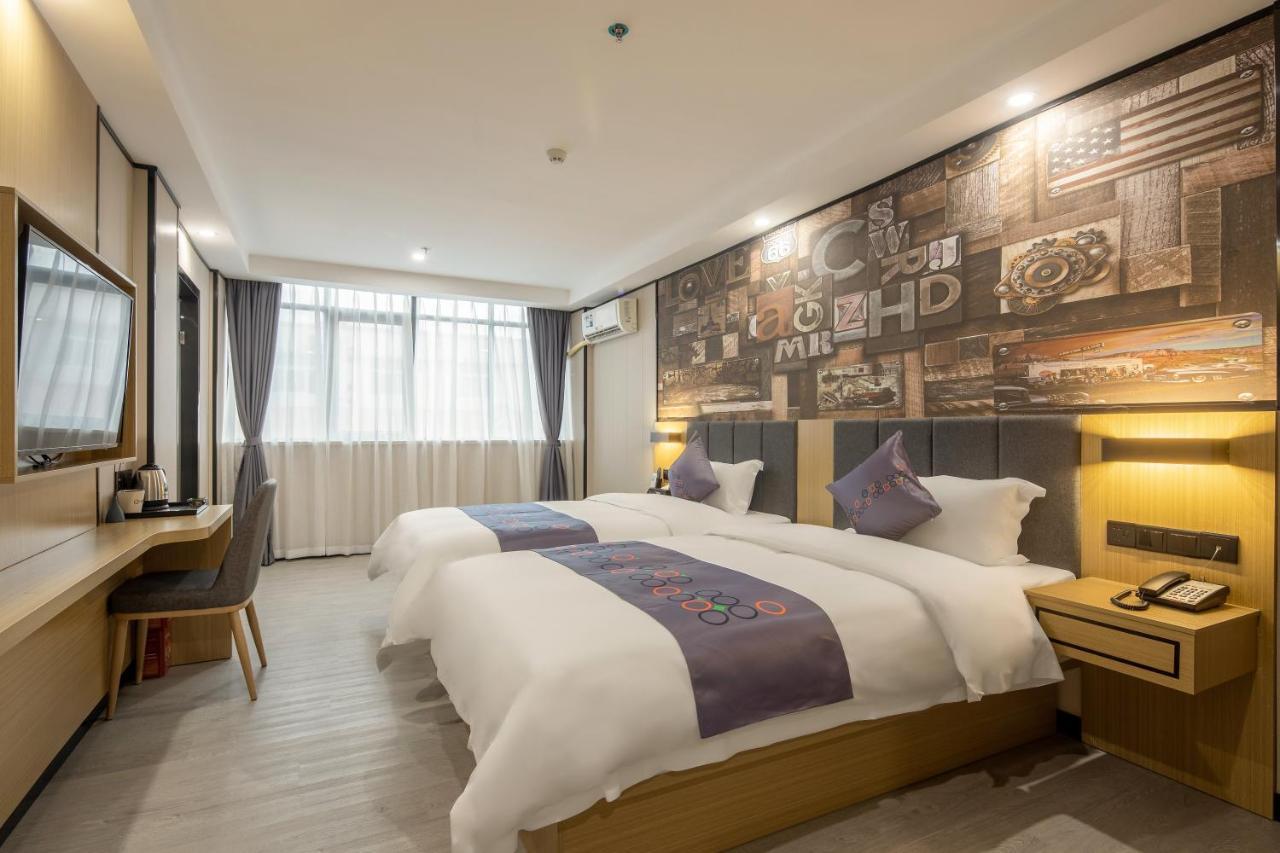Отель  Yimimi Hotel Guangzhou Railway Station Xicun Metro Branch