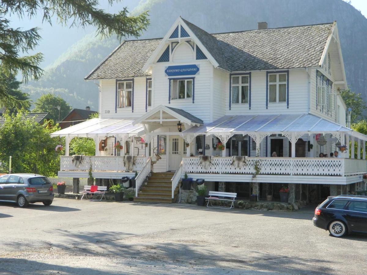 Отель типа «постель и завтрак»  Eidfjord Gjestgiveri