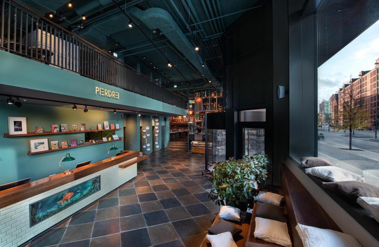 PIERDREI Hotel HafenCity Hamburg September 2019