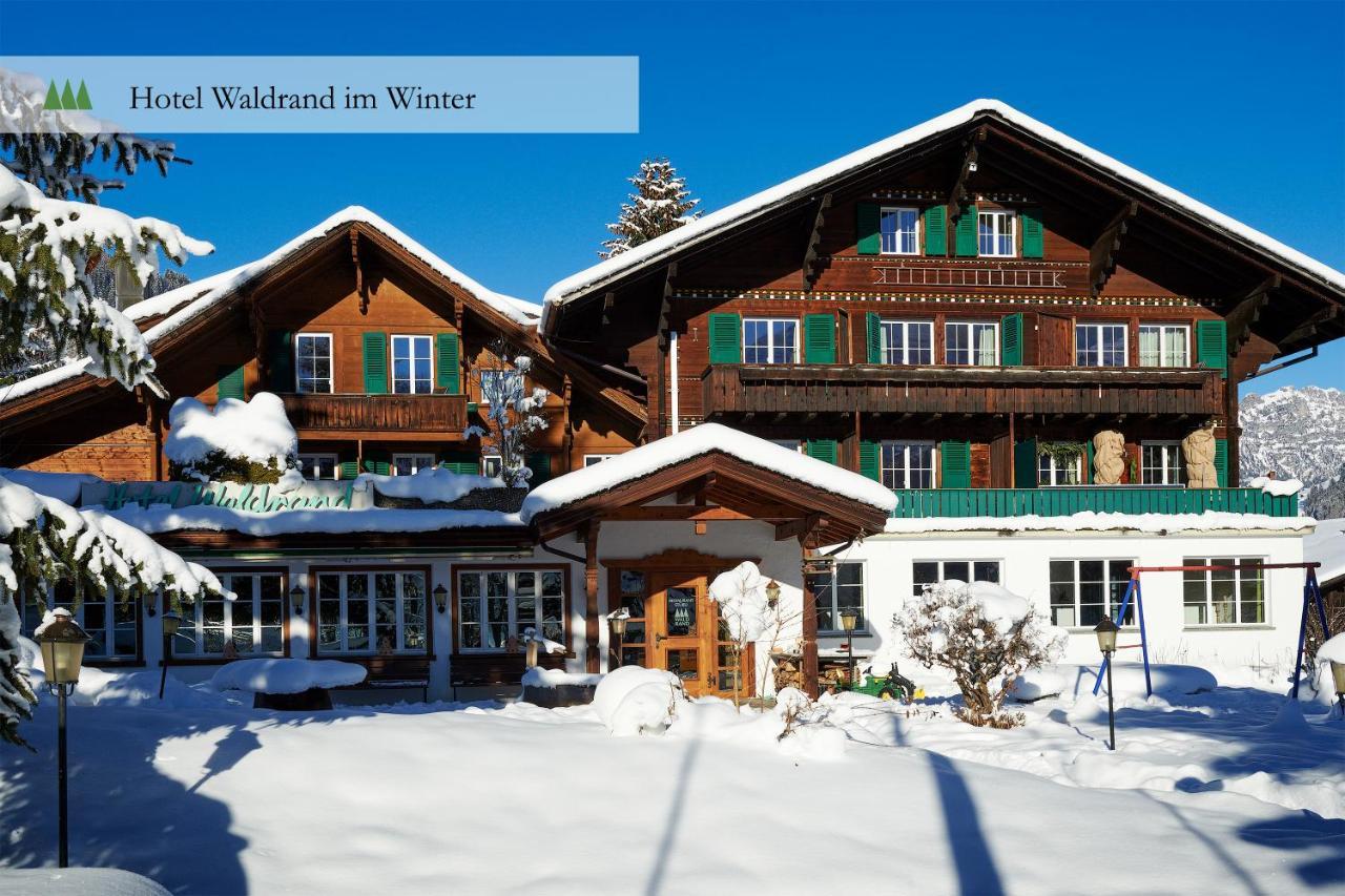 Отель  Hotel Waldrand