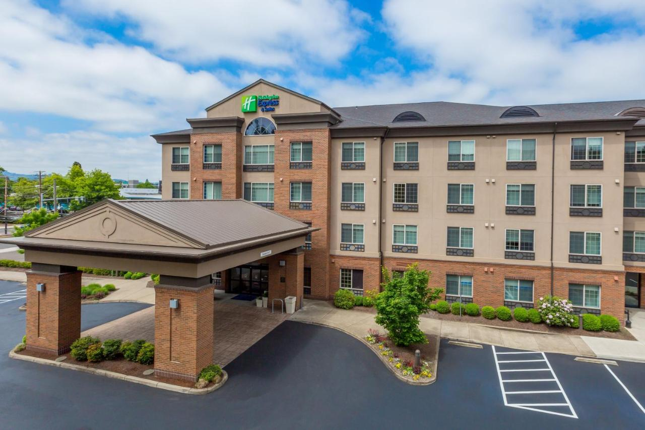 Отель  Отель  Holiday Inn Express Hotel & Suites Eugene Downtown - University