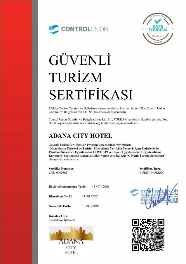 Отель  Отель  Adana City Boutique Hotel