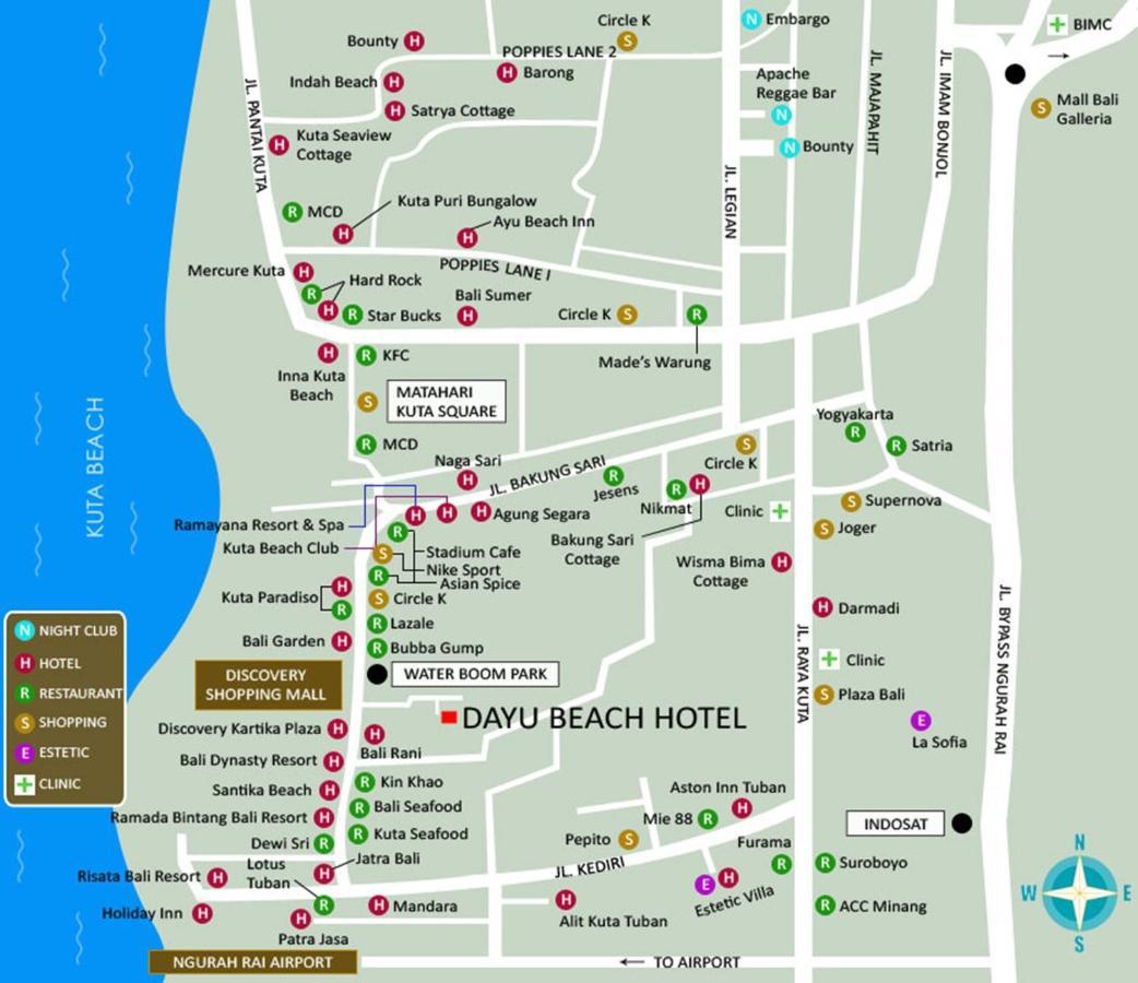 Dayu Hotel Kuta Indonesia Booking Com