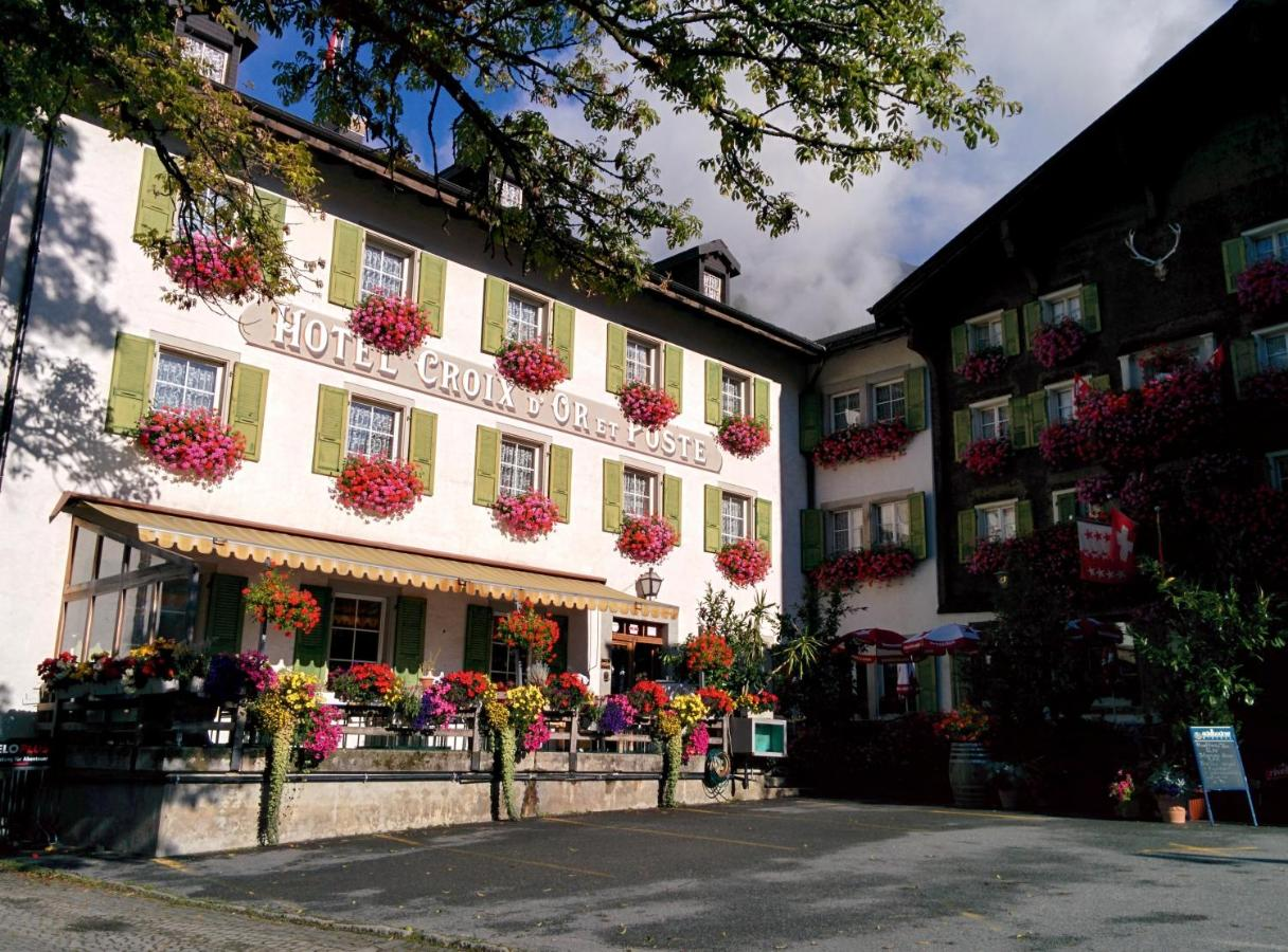 Мини-гостиница  Мини-гостиница  Hotel Croix D'Or Et Poste - Swiss Historic Hotel