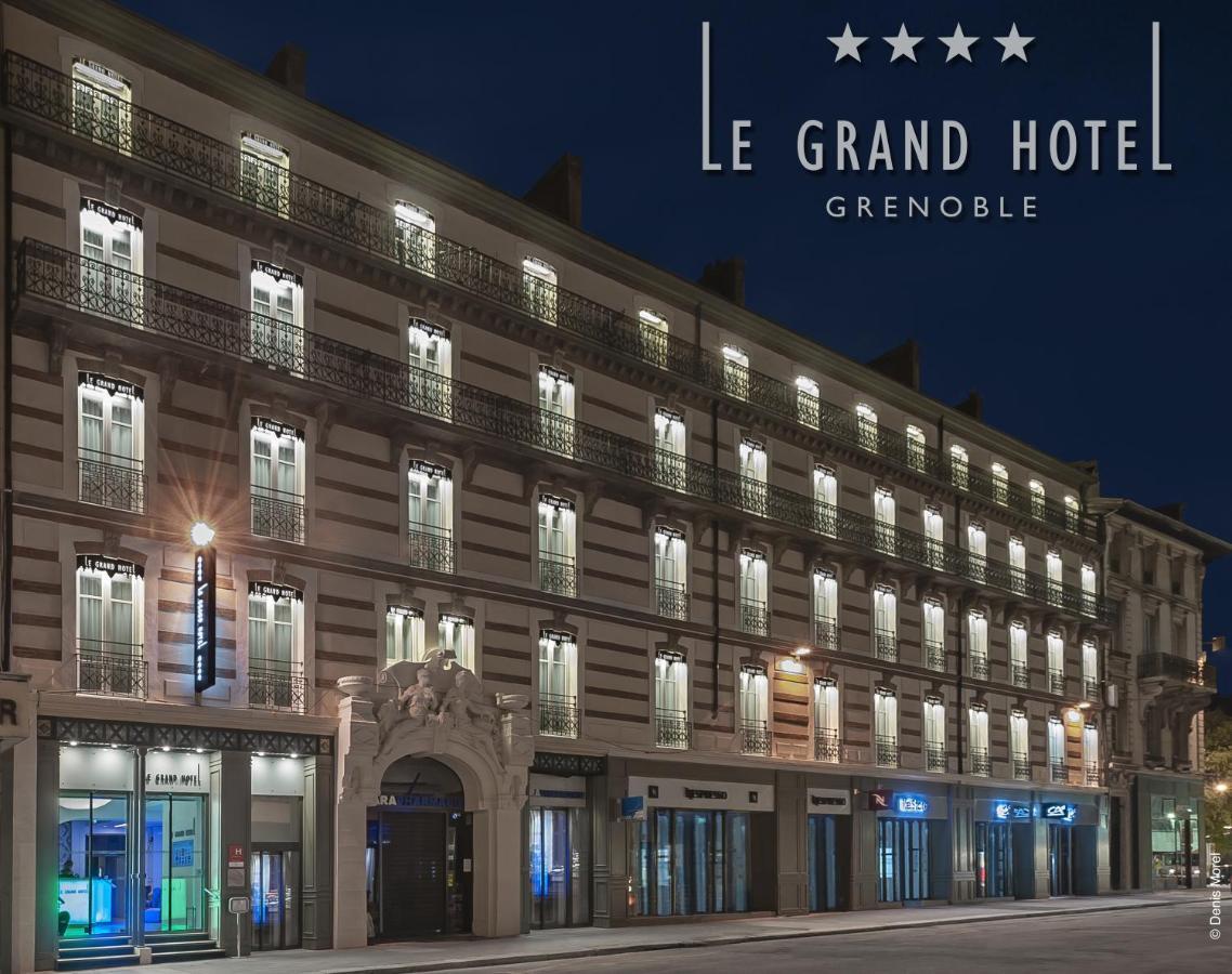 Le Grand Hotel Grenoble Grenoble Prețuri Actualizate 2020