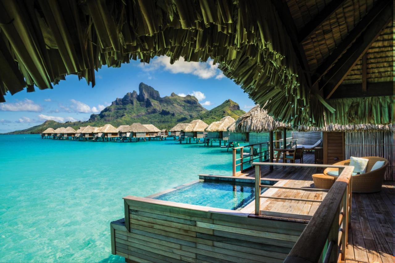 Uma vista do resort
