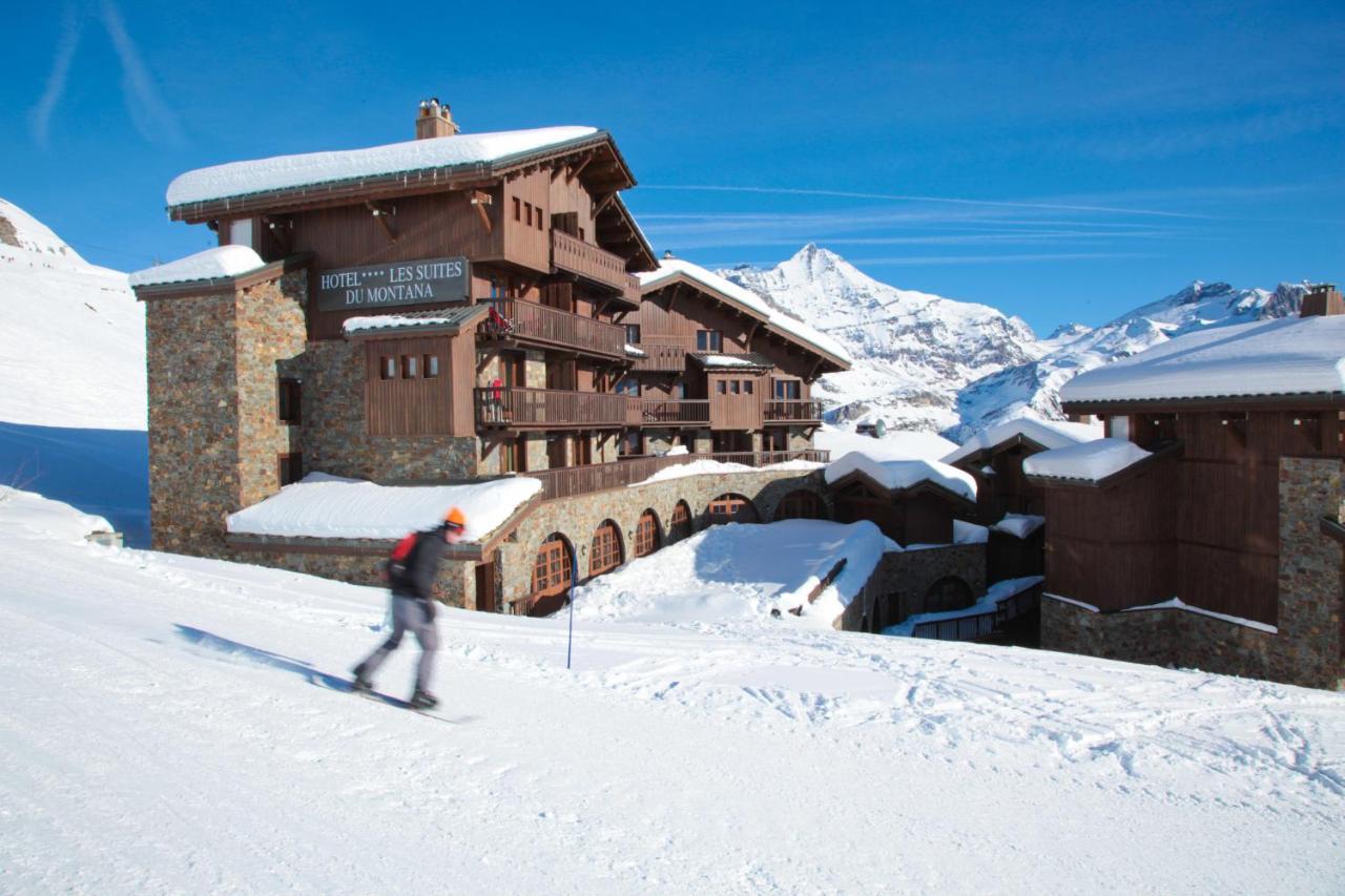 Отель  Hôtel Les Suites Du Montana