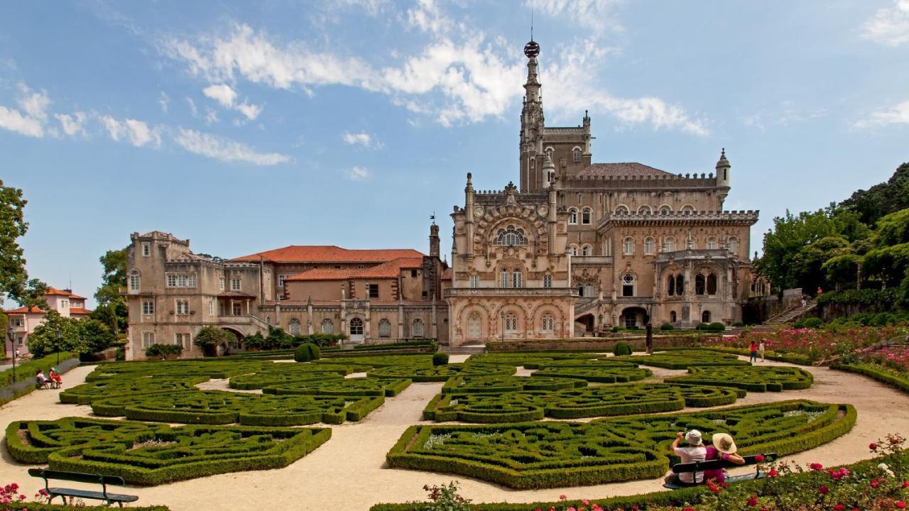 Resultado de imagen de palacio de Bussaco