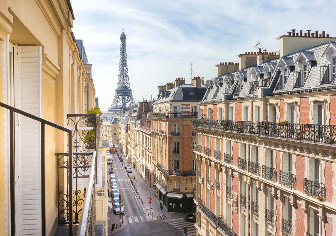 巴黎鐵塔旁邊住宿推薦,出門就可以看見巴黎鐵塔的旅館,Elysées Union(愛麗舍聯合酒店)