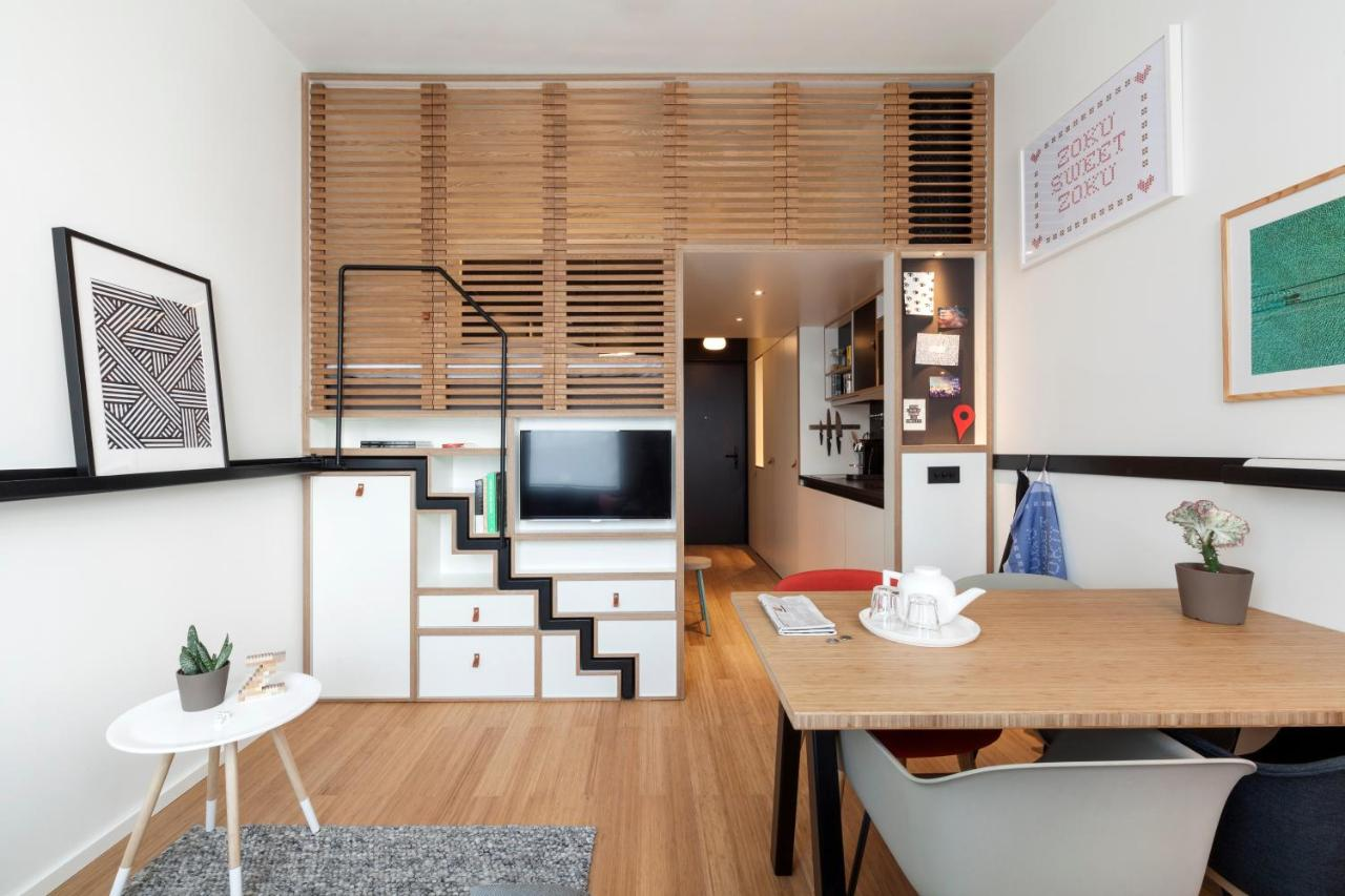 Cuisine 8 Metre Carre condo hotel zoku amsterdam, netherlands - booking