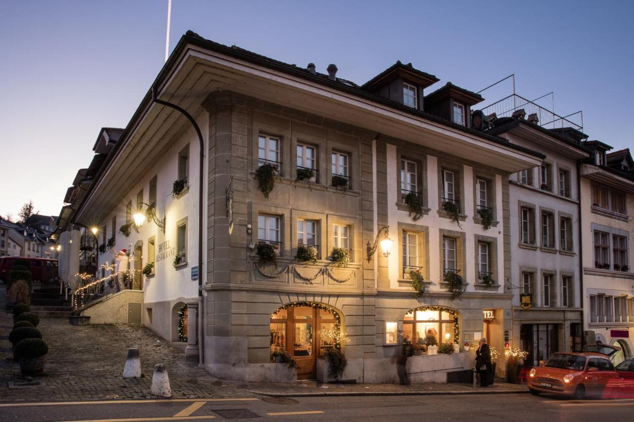 Hôtel Restaurant Au Sauvage Fribourg Switzerland Booking Com
