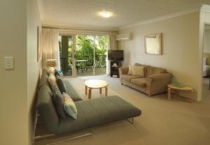 A seating area at Bila Vista Holiday Apartments