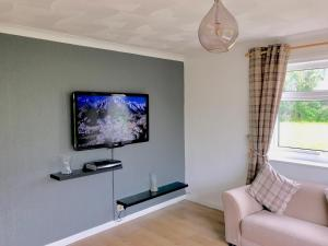 A television and/or entertainment centre at Ednyfed South Stack Road