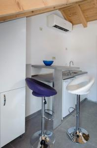 A kitchen or kitchenette at Nera luxery Apartments