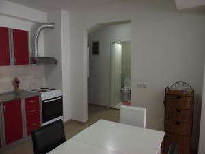 A kitchen or kitchenette at Cosmopolitan Apartments