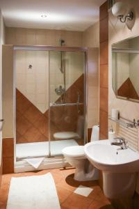 A bathroom at Sosnowe Zacisze