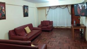 Zona de estar de Kennedy´s House