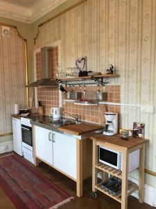Ett kök eller pentry på Gamla Stan Simrishamn