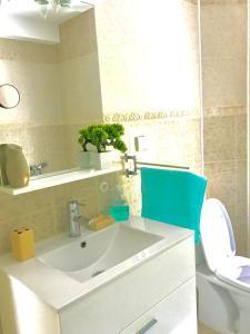 Koupelna v ubytování Apartment Ivanišević 2