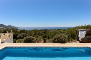 The swimming pool at or near Villa Prana Ibiza