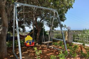 Children's play area at Chrysiida Suites