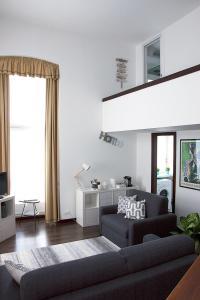 Area soggiorno di Santa Maria Apartment