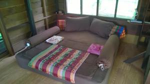 Zona de estar de Rudi Mental Holiday Lodge