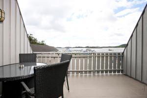 A balcony or terrace at Åros Feriesenter